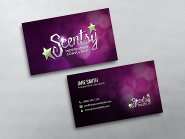 Scentsy business cards free shipping scentsy business card 09 cheaphphosting Gallery