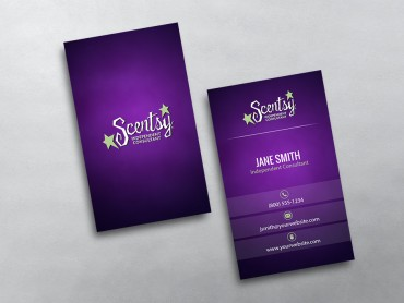 Scentsy business cards free shipping scentsy business card 14 accmission Images