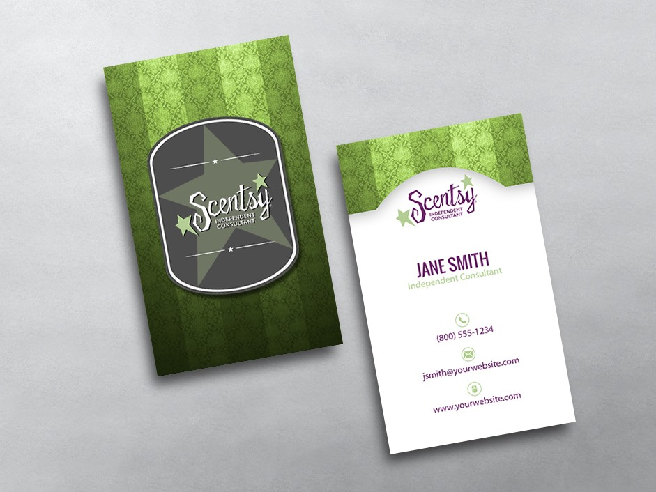 Scentsy Business Cards Free Shipping