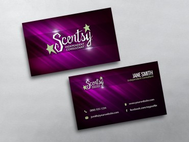 Scentsy business cards free shipping scentsy business card 21 colourmoves