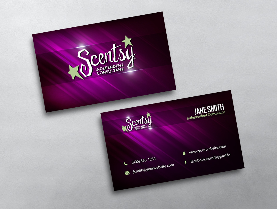 Scentsy Business Card 21