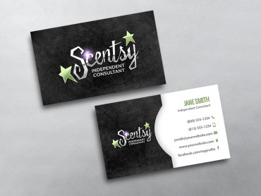 Scentsy business cards free shipping scentsy business card 22 colourmoves