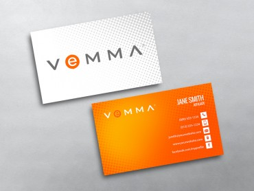 Vemma business cards free shipping vemma business card 02 colourmoves Gallery