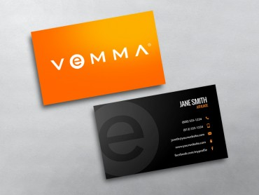 Vemma business cards free shipping vemma business card 04 colourmoves Gallery