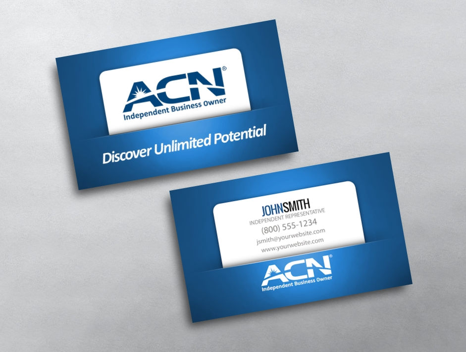 Acn business card design free shipping category acn business cards free reheart Gallery