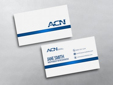 Acn business cards free shipping acn business card 03 reheart Images