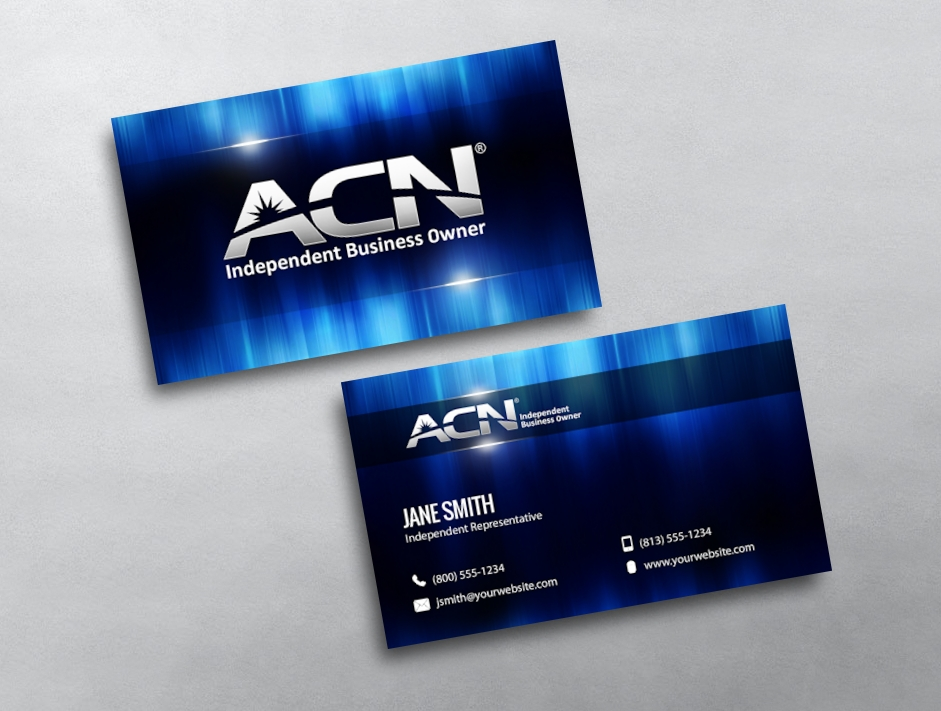 ACN Business Cards | Print Business Cards | Free Delivery
