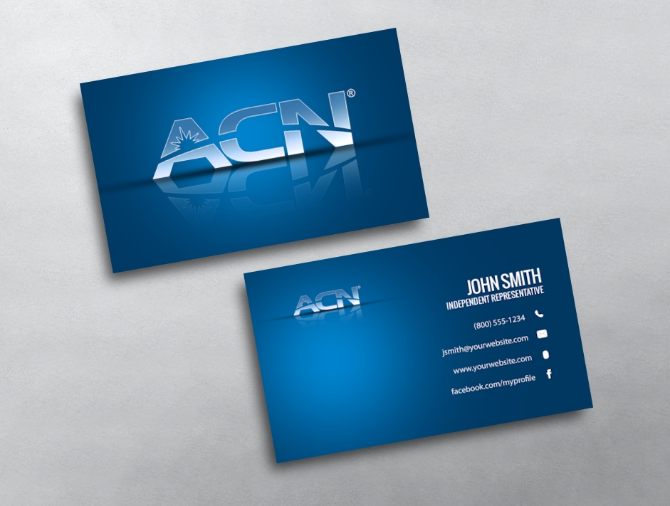 Acn business card design create your card online category acn business cards free reheart Choice Image