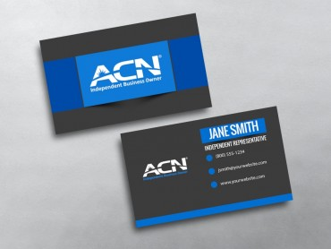 Acn business cards free shipping acn business card 10 reheart Choice Image