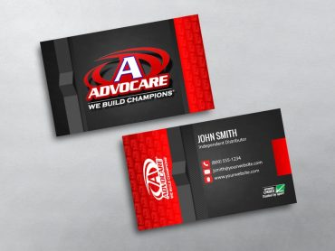 Advocare Business Card 01