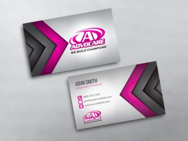 Advocare business cards free shipping advocare business card 14 flashek Image collections