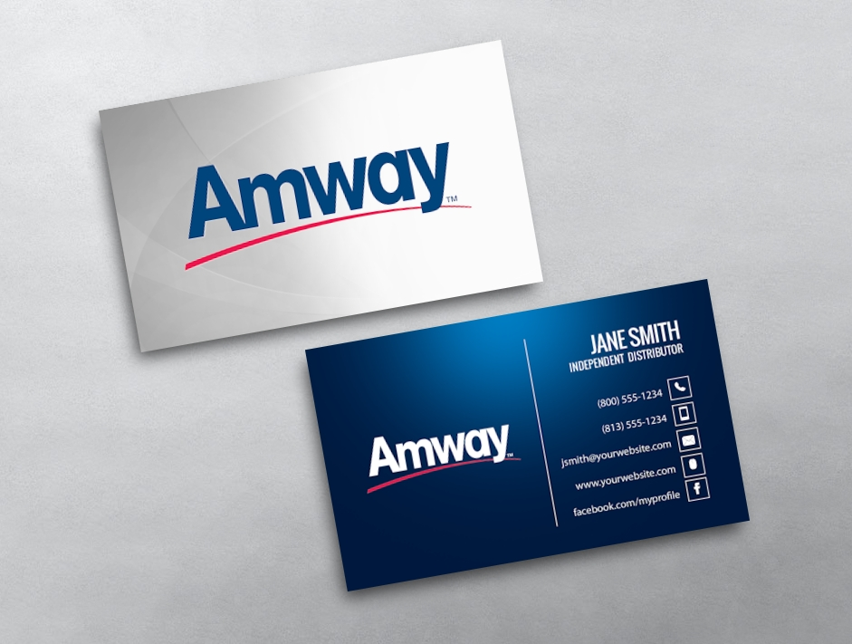 Amway business cards free shipping amway business card 01 reheart Choice Image
