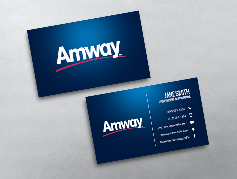 Amway business cards free shipping amway business card 03 accmission Image collections