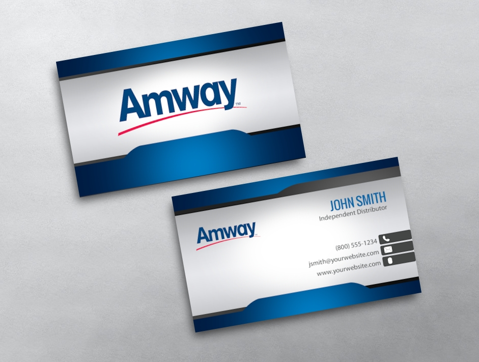 Amway business card 04 category amway business cards free amwaytemplate 04 flashek