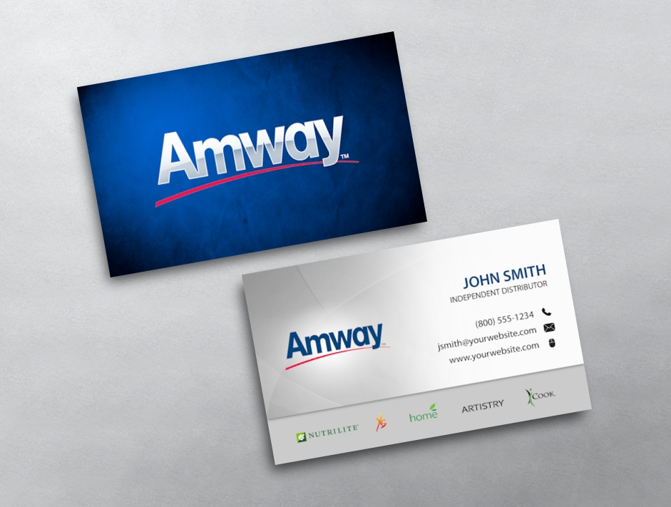 Amway business card 05 category amway business cards free amwaytemplate 05 flashek Choice Image