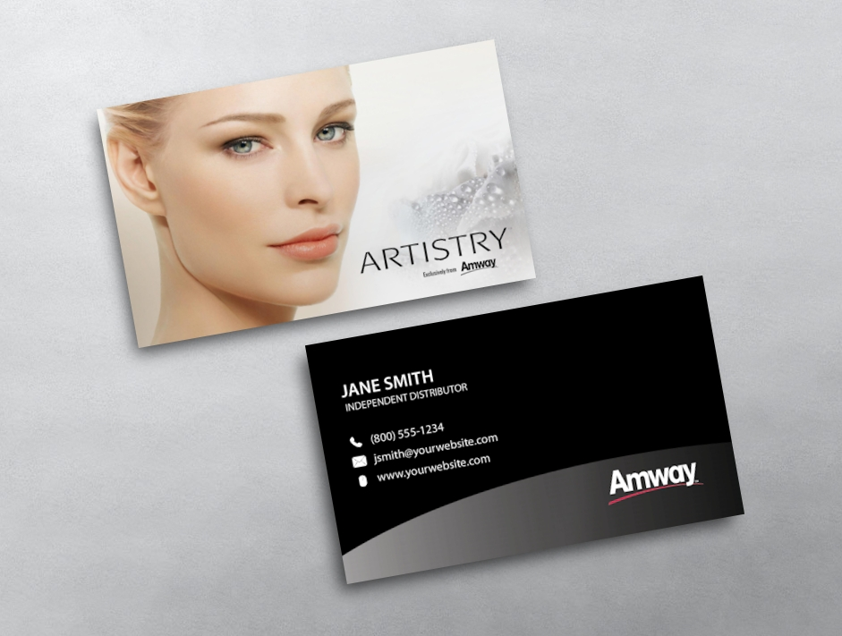 Amway business card 06 category amway business cards free amwaytemplate 06 flashek