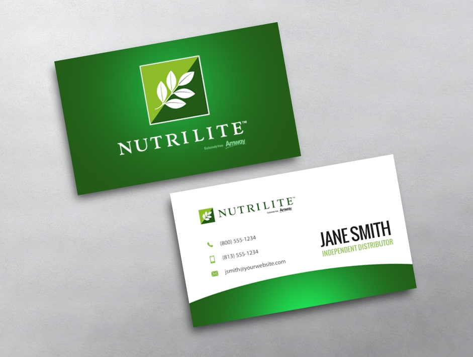 Amway Business Card 07