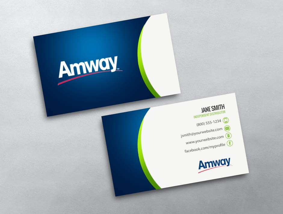 Amway business card 11 category amway business cards free amwaytemplate 11 flashek