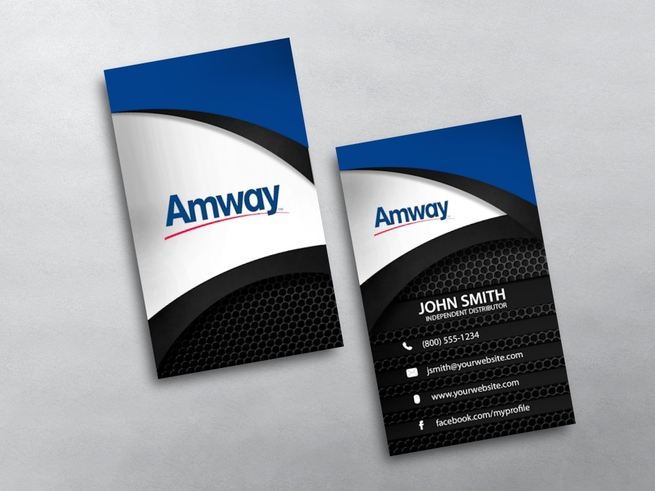 Business Card Template » Amway Business Card Template - Free Card ...