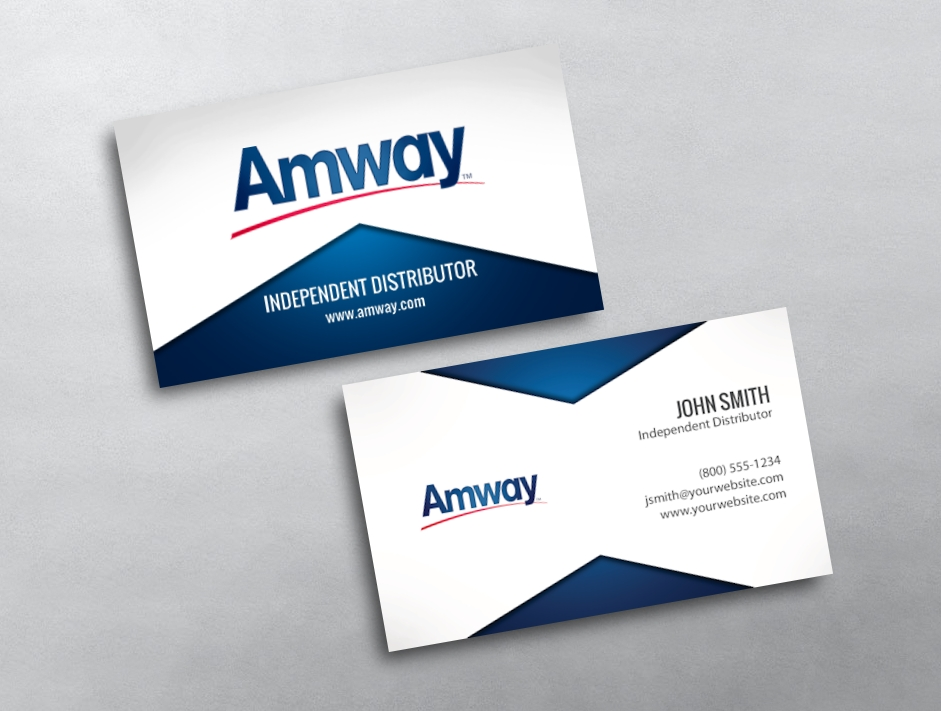 Amway business card 19 category amway business cards free amwaytemplate 19 flashek