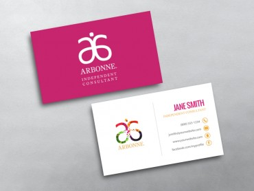 Arbonne business cards free shipping arbonne business card 02 reheart