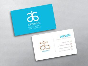 Arbonne Business Card 04