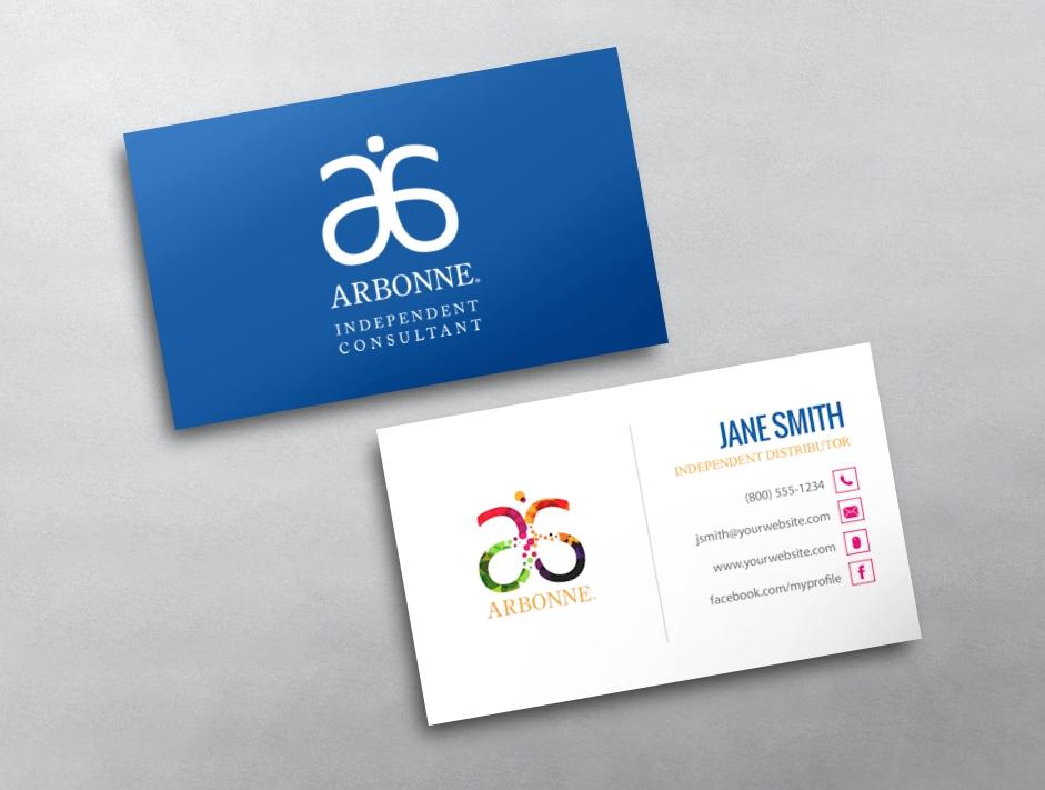 Arbonne Business Card 10