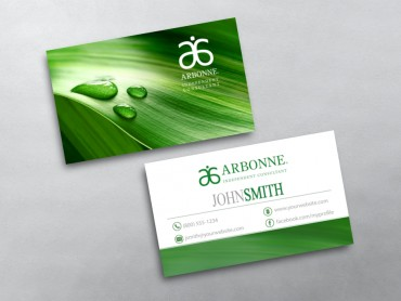 Arbonne Business Card 18
