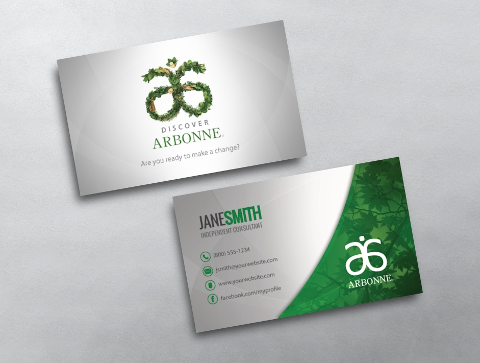 Arbonne Business Card 20