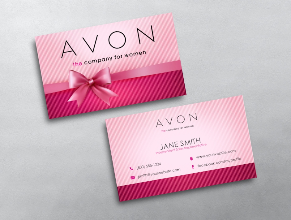 Relatively Avon Business Card 10 KD61
