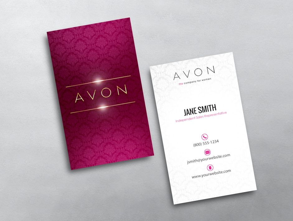 Avon Business Cards | Free Shipping