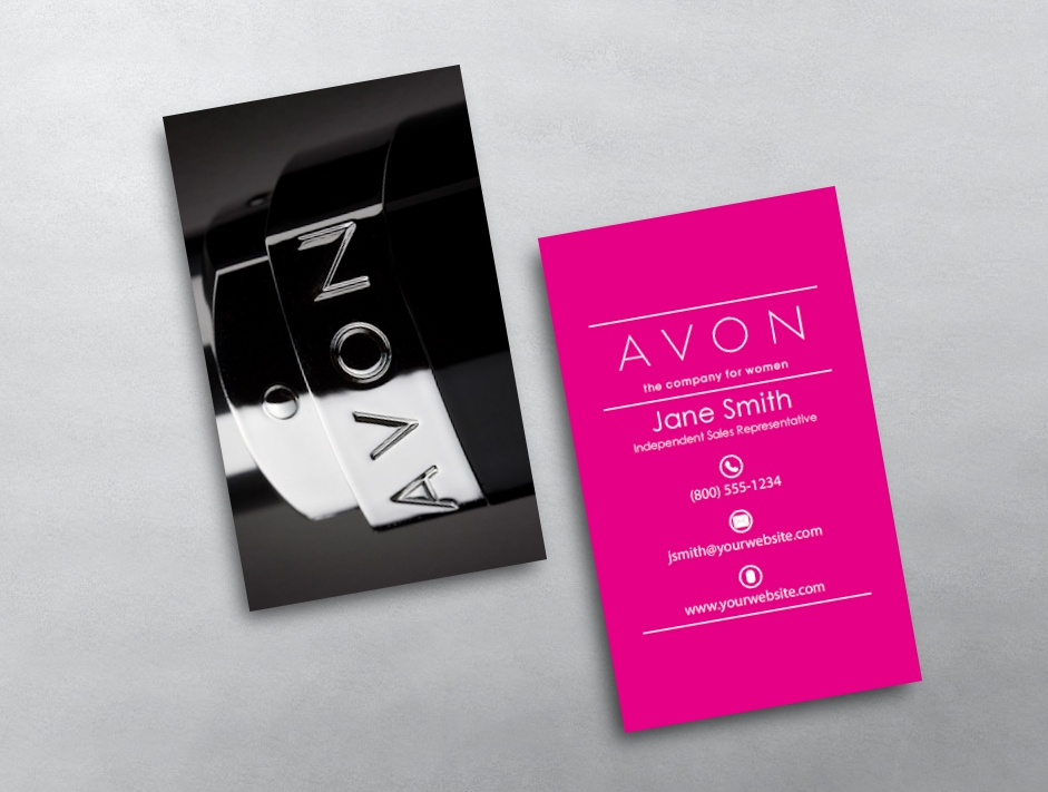 Avon Business Card - Avon business card template