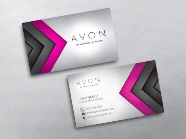 Avon Business Card - Avon business card template