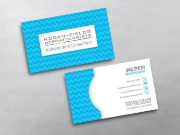 Rodan and fields business cards free shipping rodan and fields business card 05 accmission Image collections
