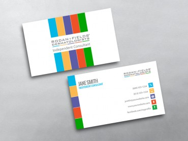Rodan and fields business cards free shipping rodan and fields business card 07 colourmoves