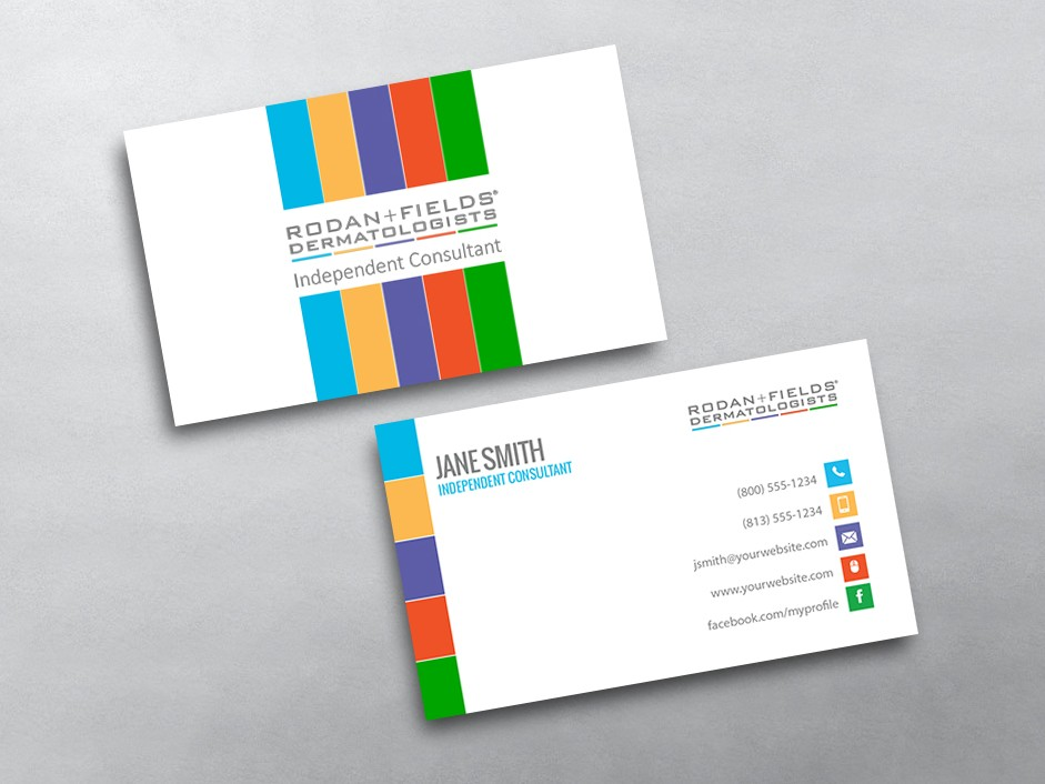 rodan and fields business cards template by rodan and fields business cards free shipping - Cheap Business Cards Free Shipping