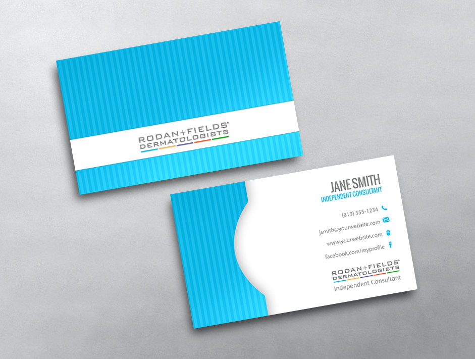 Rodan and fields business cards free shipping rodan and fields business card 15 colourmoves