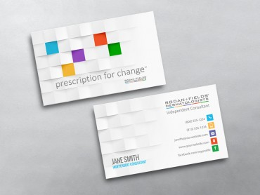 Rodan and fields business cards free shipping rodan and fields business card 16 fbccfo Choice Image