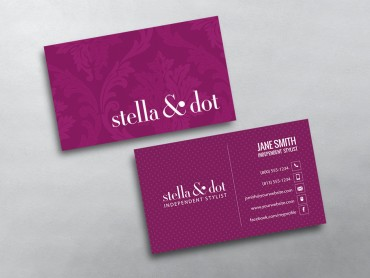 Stella and dot business cards free shipping stella dot business card 08 colourmoves