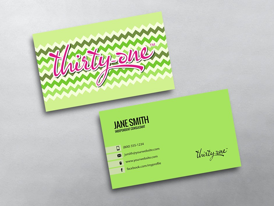 Thirty e Business Cards