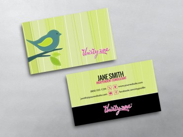 ThirtyOne Business Cards Free Shipping