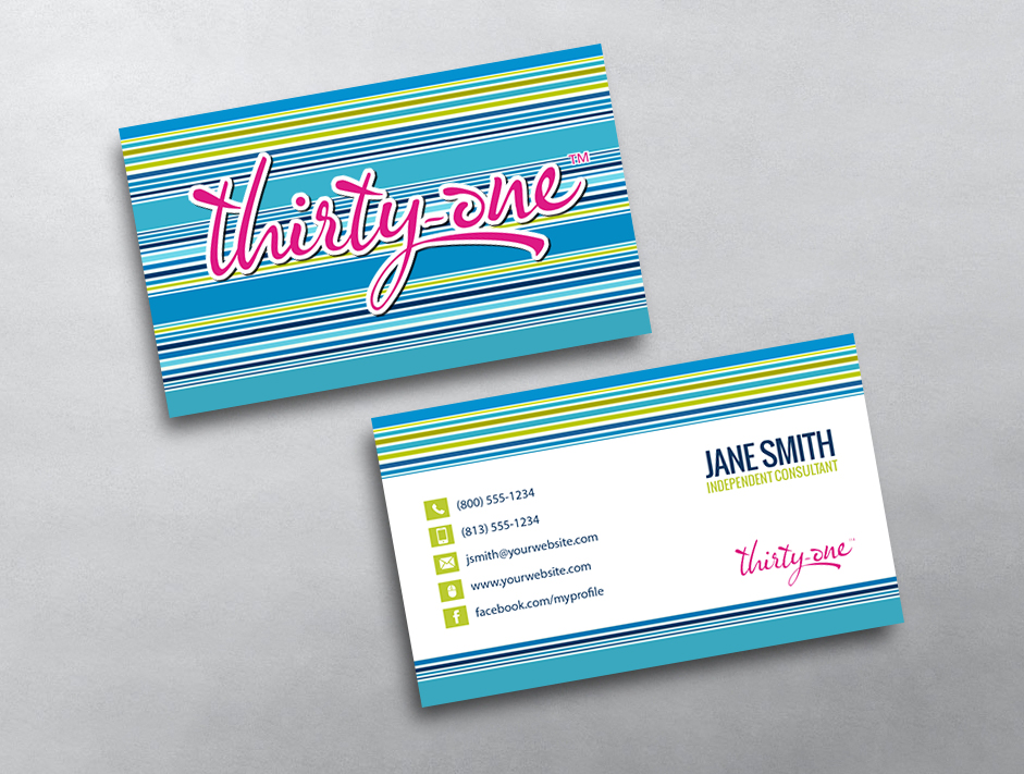 Thirty-One Gifts Business Card 18