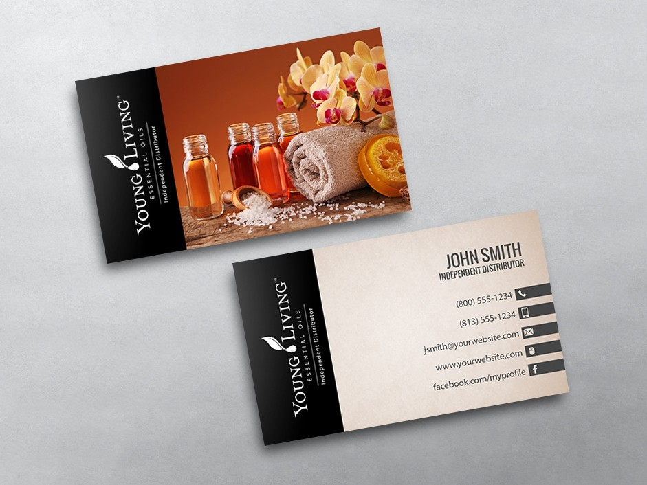 Young Living Business Cards Related Keywords & Suggestions