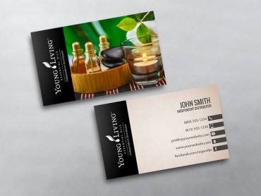 young living business card 03