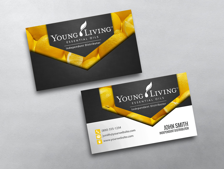 Young Living Business Cards | Free Shipping