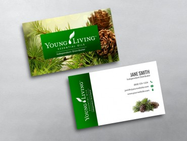 young living business card 11