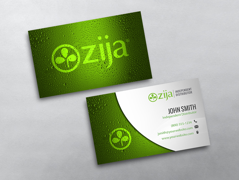 20 Lovely Zija Business Card Template Pictures | Business Cards Ideas