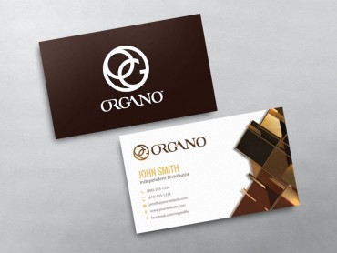Organo gold business cards free shipping organo gold business card 10 colourmoves