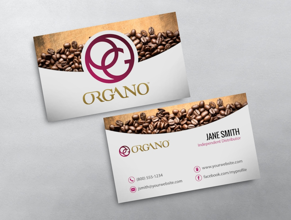 Organo gold business card 15 category organo gold business cards free organo goldtemplate 15 colourmoves